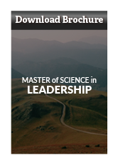 Download Master of Science in Leadership Brochure