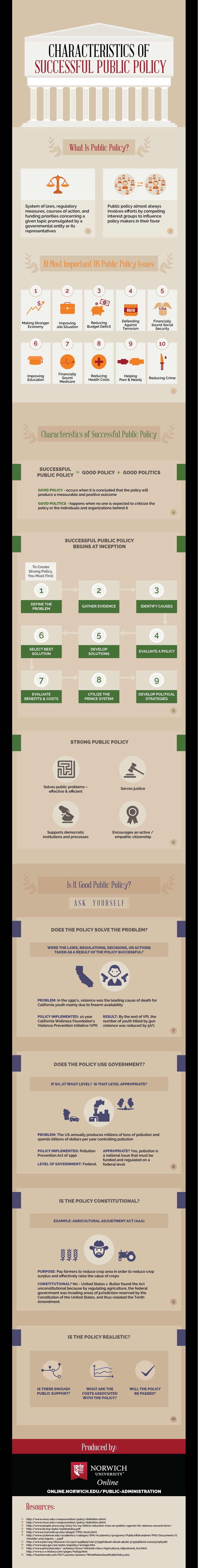 public policy infographic image