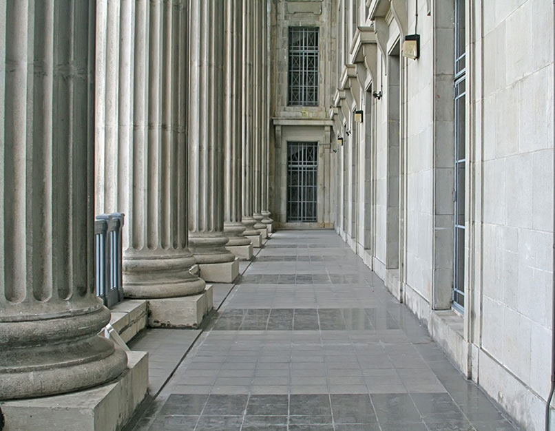 federal building outside